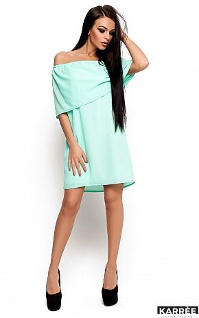 Платье Фиона, Ментол - фото 1