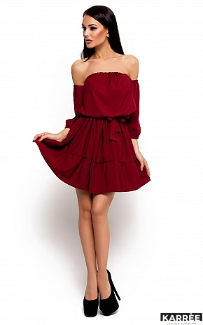 Платье Шарлин, Марсала - фото 1