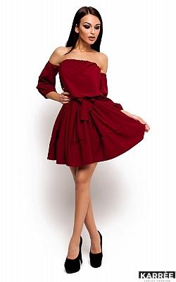 Платье Шарлин, Марсала