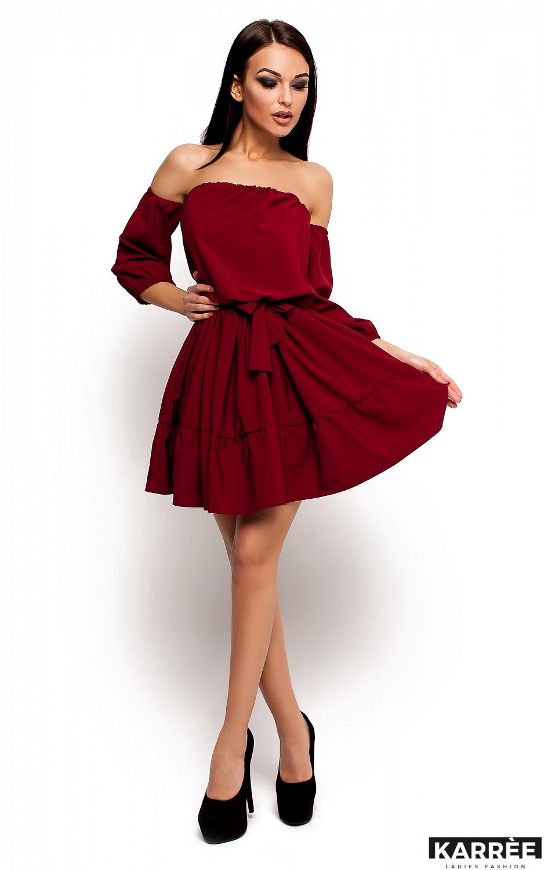 Платье Шарлин, Марсала - фото 2