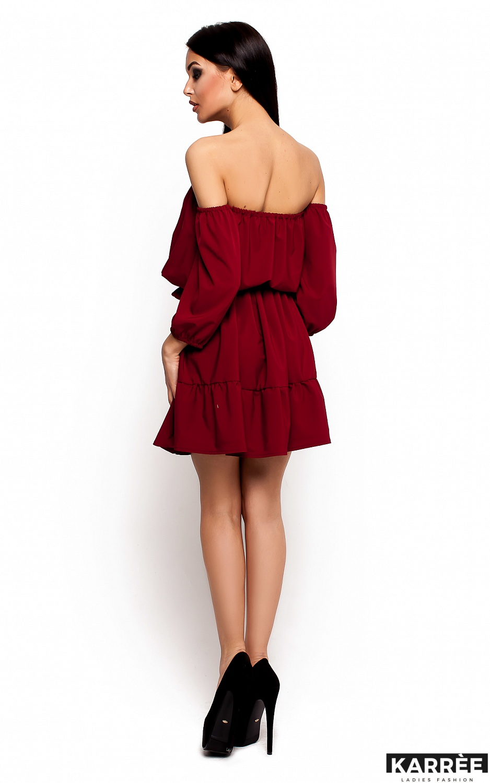 Платье Шарлин, Марсала - фото 3