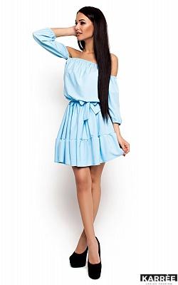 Платье Шарлин, Голубой