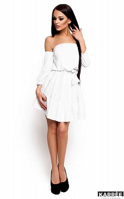 Платье Шарлин, Белый