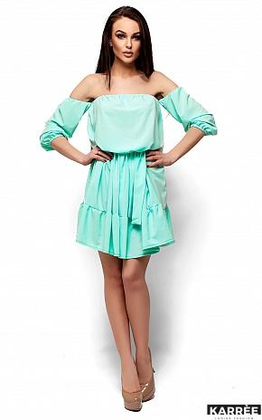 Платье Шарлин, Ментол - фото 1
