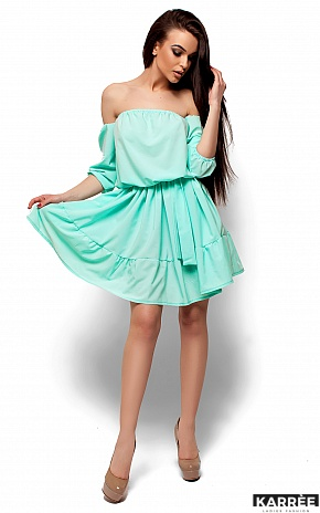Платье Шарлин, Ментол - фото 4