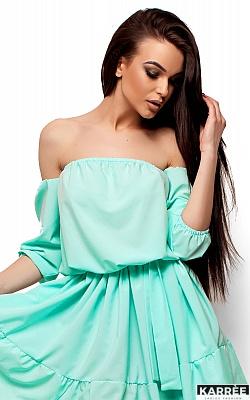 Платье Шарлин, Ментоловый