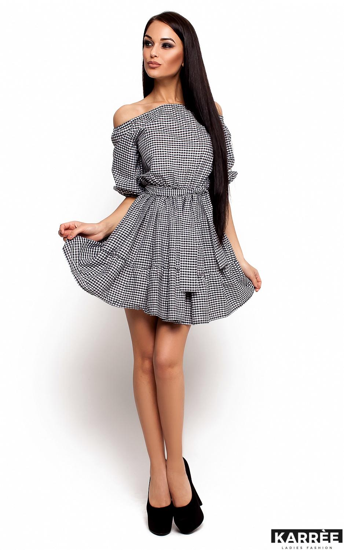 Платье Дженнифер, Черный - фото 1