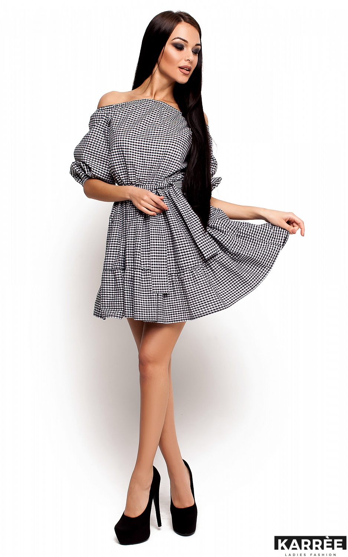 Платье Дженнифер, Черный - фото 2