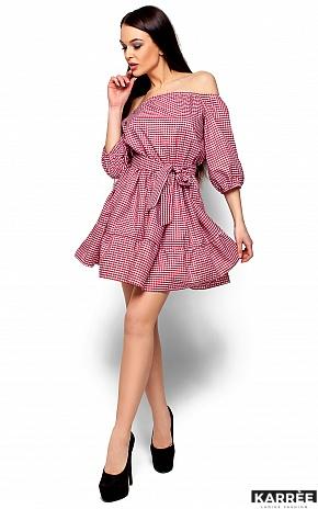 Платье Дженнифер, Красный - фото 1