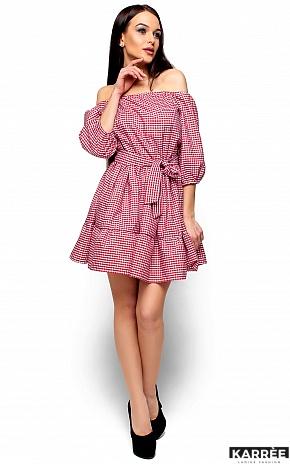 Платье Дженнифер, Красный - фото 4