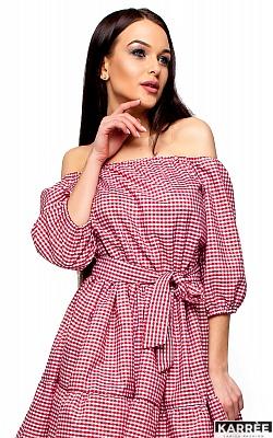 Платье Дженнифер, Красный