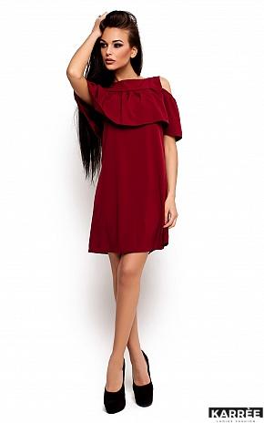 Платье Реми, Марсала - фото 1