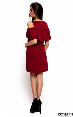 Платье Реми, Марсала - фото 3