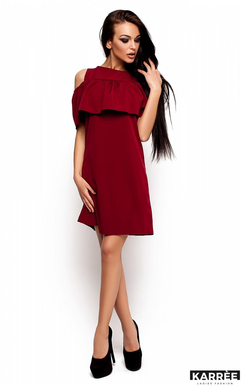 Платье Реми, Марсала - фото 2