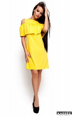 Платье Реми, Желтый