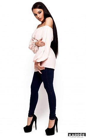 Блуза Лори, Персик - фото 2