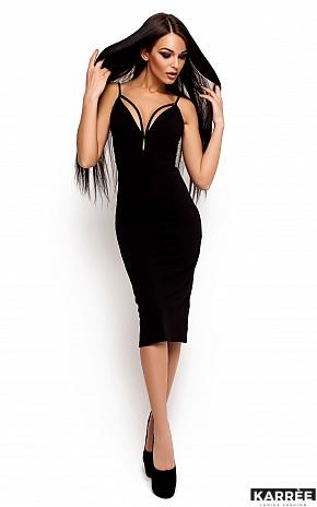 Платье Ривьера, Черный - фото 1