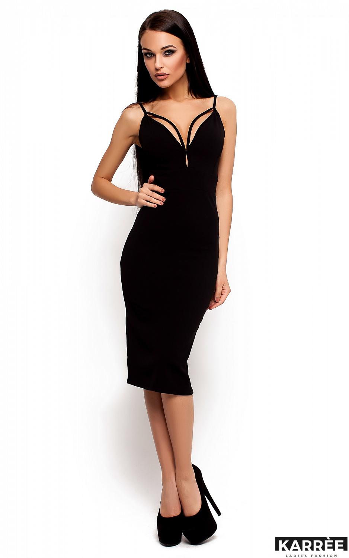Платье Ривьера, Черный - фото 2