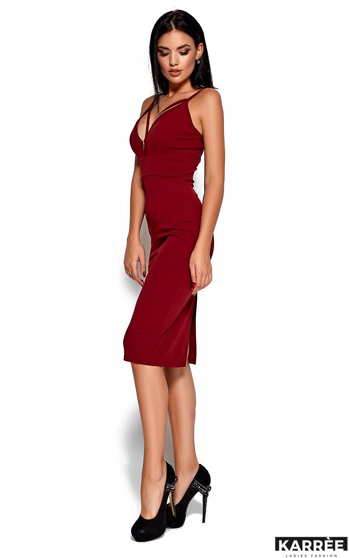 Платье Ривьера, Марсала - фото 3