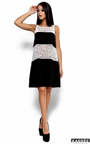 Платье Аврил, Черный - фото 1