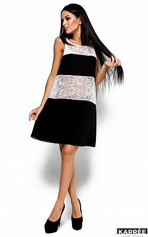 Платье Аврил, Черный - фото 2