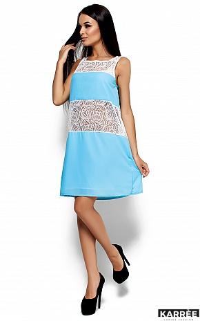 Платье Аврил, Голубой - фото 1
