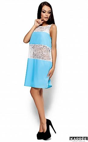 Платье Аврил, Голубой - фото 2