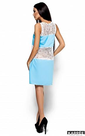 Платье Аврил, Голубой - фото 3