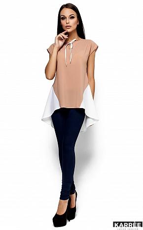 Блуза Лора, Комбинированный - фото 1