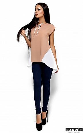 Блуза Лора, Комбинированный - фото 2