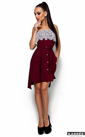 Платье Илла, Марсала - фото 2