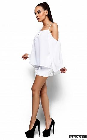 Блуза Янтарь, Белый - фото 2