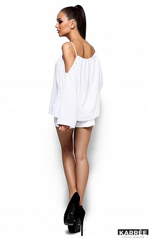 Блуза Янтарь, Белый - фото 3