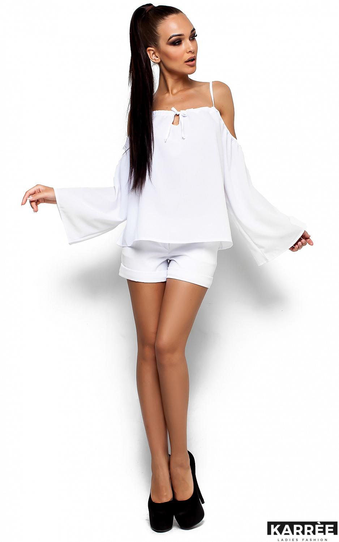 Блуза Янтарь, Белый - фото 1