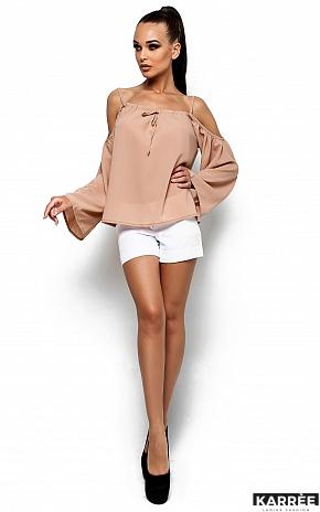 Блуза Янтарь, Бежевый - фото 2
