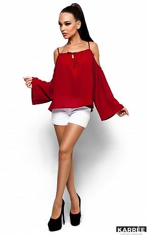 Блуза Янтарь, Марсала - фото 1