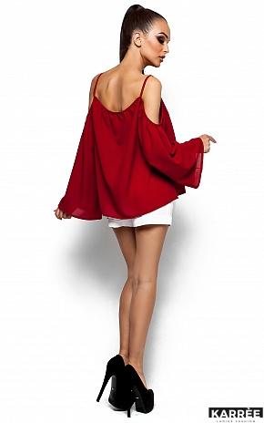 Блуза Янтарь, Марсала - фото 3