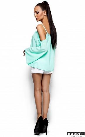 Блуза Янтарь, Ментол - фото 3