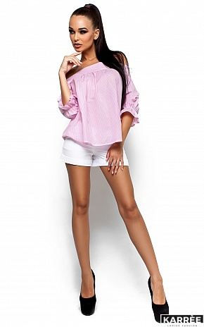 Рубашка Лика, Розовый - фото 2