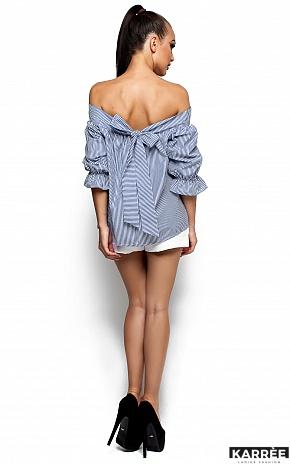 Рубашка Лика, Синий - фото 3