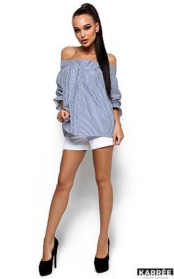 Рубашка Лика, Синий
