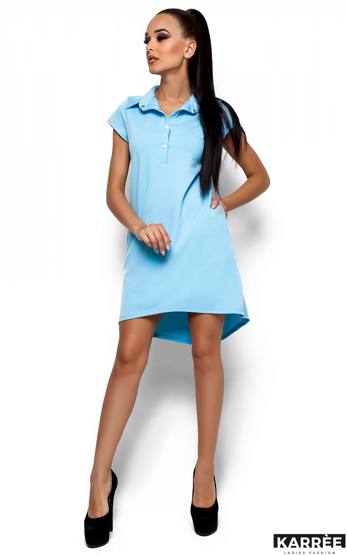 Платье Эллада, Голубой - фото 1