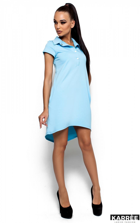 Платье Эллада, Голубой - фото 2
