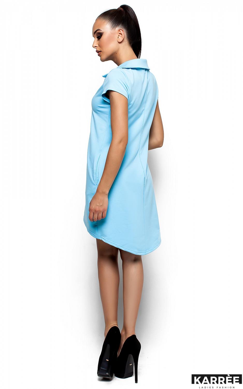 Платье Эллада, Голубой - фото 3