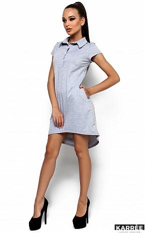Платье Эллада, Серый - фото 2