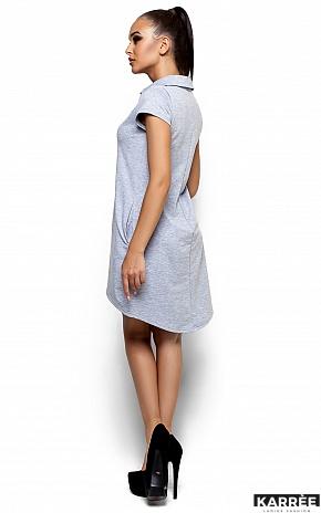 Платье Эллада, Серый - фото 3
