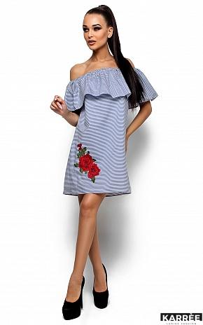 Платье София, Синий - фото 1