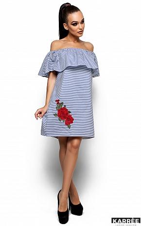 Платье София, Синий - фото 2