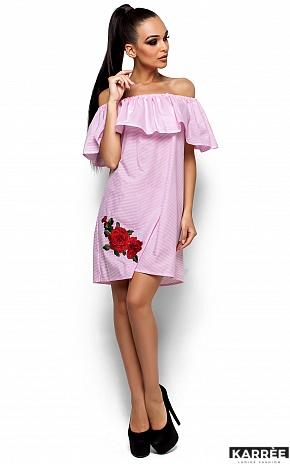 Платье София, Розовый - фото 1