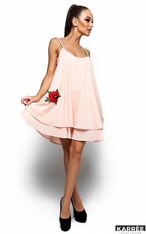 Платье Ассоль, Персик - фото 1